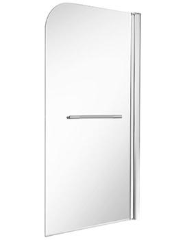 ES400 Single Panel Bath Screen 1500 x 850mm - ES40960CP