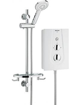 Bristan Joy 9.5 kW White Electric Shower - JOYT95 W