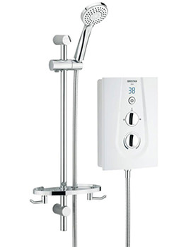 Glee White Electric Shower 10.5kW - GLE105 W