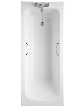 Armitage Shanks Sandringham 21 Bath With Handgrips 1700 x 700mm
