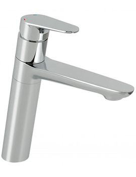 Ascent Mono Kitchen Sink Mixer Tap With Swivel Spout