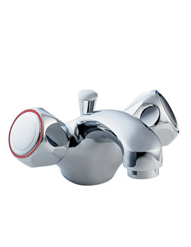 Profile Mono Basin Mixer Tap With Pop-Up Waste Chrome