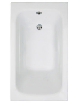Crystal Single Ended Acrylic Bath 1200 x 700mm - BH060