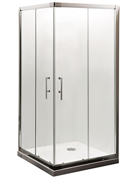 Lauren Aegean Corner Shower Cubicle 800 x 800mm - AFCE8080