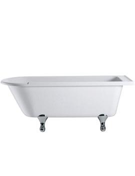 Hampton Freestanding Bath With Chrome Classical Legs - E13 - E10 CHR