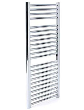 Napoli Straight Towel Rail 450 x 1100mm White - ASW4.5W1100