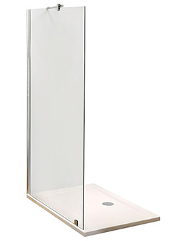 Lauren Wetroom Shower Screen 900 x 1850mm - WRS090