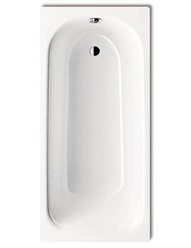 Plus 367 Steel Bath 1600 x 750mm 0 Tap Hole - 1138 0001 0001