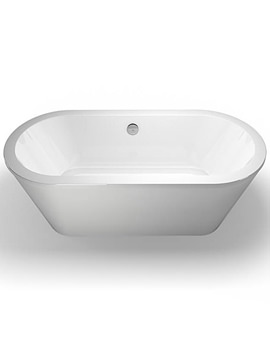 Freestark Freestanding Bath With White Surround - R33
