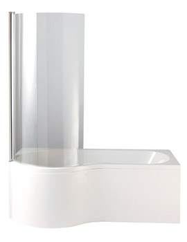 Related Heritage Unity Left Hand Showerbath 1500 x 700mm - BUWL15