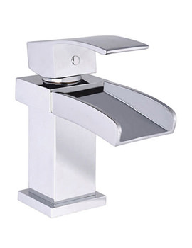 Mayfair Harlyn Mono Basin Mixer Tap With Click Clack Waste-HLN009