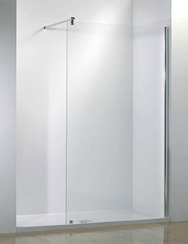 Ultimate 1700mm Left Hand Recess Walk-In Shower Enclosure