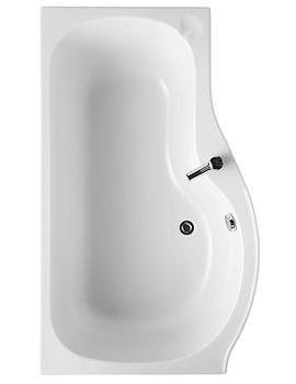 Space Idealform Plus 1500 x 700mm Shower Bath