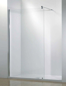 Related Kudos Ultimate 1700mm Right Hand Recess Walk-In Shower Enclosure