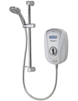 Aqualisa Vitalise SLX Electric Shower White And Chrome 9.5KW