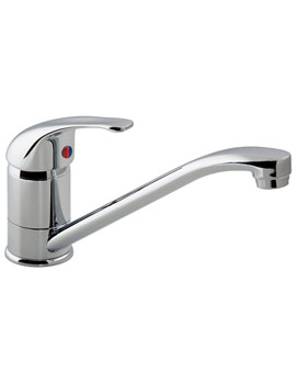 Matrix Mono Kitchen Sink Mixer Tap With Swivel Spout - MAT-150