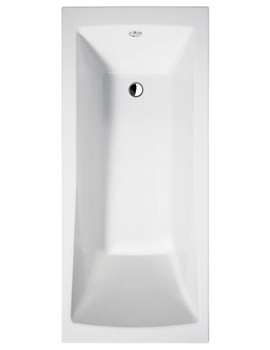 Sustain Rectangular Single Ended Bath 1600 x 700mm Square