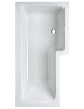 Carron Quantum Square Shower Bath 1700 x 850mm