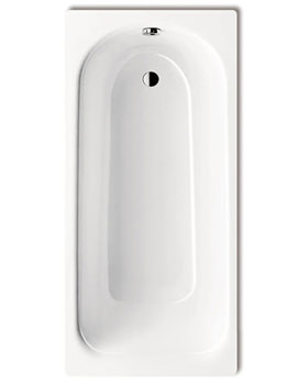 Saniform Plus 375-1 Steel 2 Tap Hole Bath 1800 x 800mm