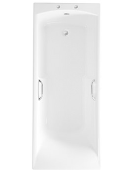 Almeria Eco Bath 1700 x 700mm With Grips And Anti Slip - 024733000