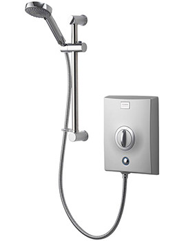 Quartz 8.5 KW Electric Shower Chrome - QZE8501