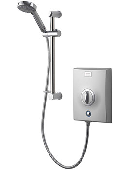 Quartz 9.5 KW Electric Shower Chrome - QZE9501