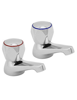 Deva Profile Basin Taps With Metal Back Nut - DCM SPEC101