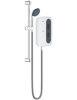Related Grohe New Tempesta 100 Frosted Granite Electric Shower 9.5 kW - 26221000