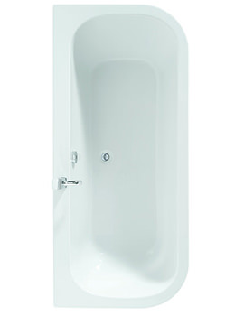 Adamsez Initial Left Or Right Hand Corner 1700 x 800mm Shower Bath