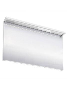 Britton Aqua Cabinets 1200mm LED Mirror With Infrared Sensor - White