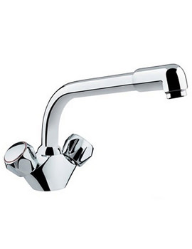 Club Matrix Monobloc Sink Mixer Chrome - CM SNK C MT