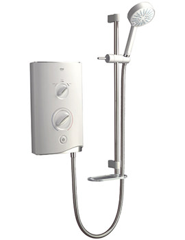 Sport Electric Shower 9.0kW White And Chrome - 1.1746.002