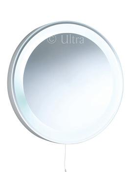 Verdi Round Backlit Bathroom Mirror 550mm - LQ355