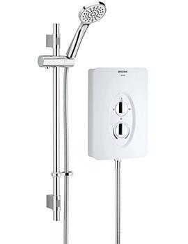 Smile 8.5kW White Electric Shower - SM285 W