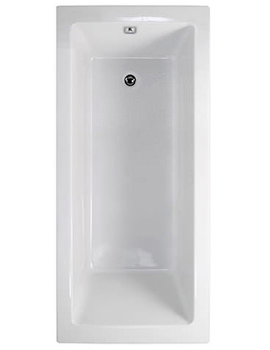 Plane Solo 1600 x 700mm Single Ended Bath - 154PLASOLO1670