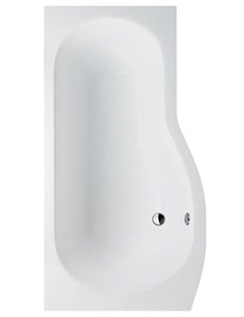 Cleargreen Ecoround Left Handed Bath 1700 x 900mm - R21