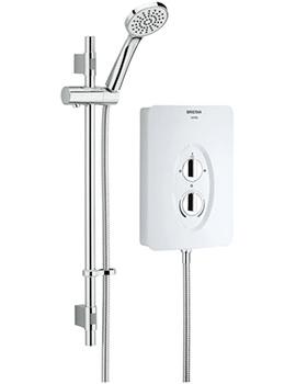 Bristan Smile 8.5kW Electric Shower White - SM285 W