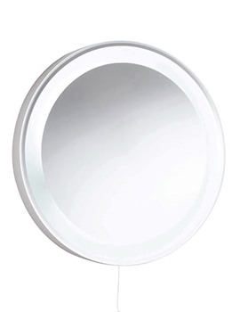 Round 550mm Backlit Mirror