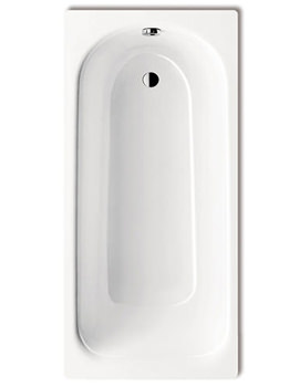 Saniform Plus 363-1 Steel 2 Tap Hole Bath 1700 x 700mm