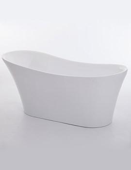 Royce Morgan Black Ebony Freestanding Slipper Bath 1710 x 735mm