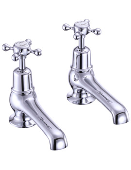 Related Burlington Claremount 5 Inch Basin Taps Chrome - CL2