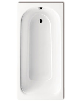 Saniform Plus 373-1 Steel 2 Tap Hole Bath 1700 x 750mm