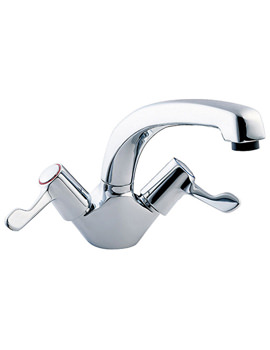 Lever Action Mono Sink Mixer Tap With 3 Inch Lever - DLT104