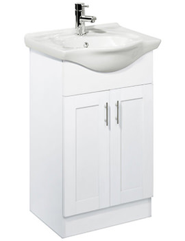New England 500mm Freestanding Unit Excluding Basin