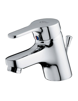 Ideal Standard Alto Single Lever High Pressure Basin Mixer Tap With Waste