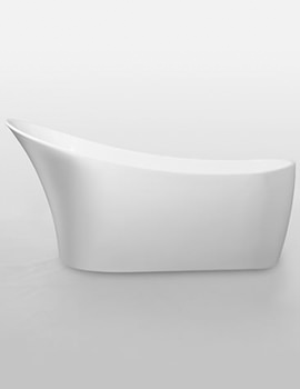 Black Sunstone Double Ended Slipper Bath 1590 x 700mm