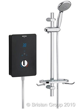 Bliss 9.5kW Electric Shower Black - BL95 B