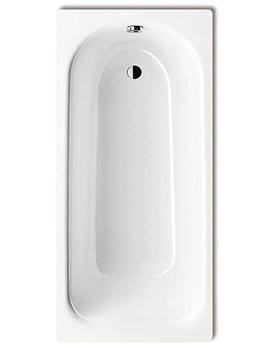 Plus 366 Steel Bath 1400 x 750mm 0 Tap Hole 1137 0001 0001