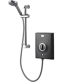 Aqualisa Quartz Electric Shower 9.5KW Graphite And Chrome