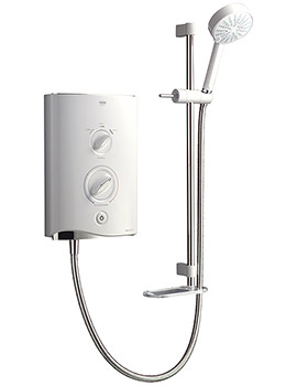 Sport Multi-Fit Electric Shower 9.0kW White And Chrome 1.1746.009